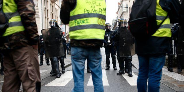 Bild från Bourges på lördagen. Rafael Yaghobzadeh / TT NYHETSBYRÅN