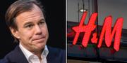 Karl-Johan Persson, vd H&M.  TT