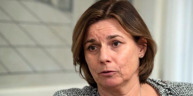 Sveriges miljöminister Isabella Lövin (MP). Henrik Montgomery/TT / TT NYHETSBYRÅN