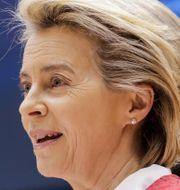 EU-chefen Ursula von der Leyen. Arkivbild. Olivier Hoslet / TT NYHETSBYRÅN