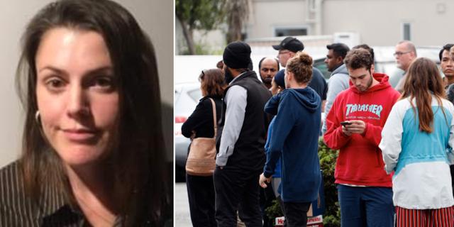 Theresia Ginés/människor samlades i områdena vid moskéerna som attackerades. TT