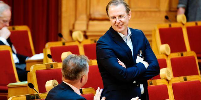 Borg ska jobba at finlands regering