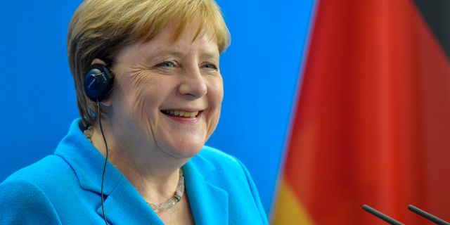 Angela Merkel.  TOBIAS SCHWARZ / AFP
