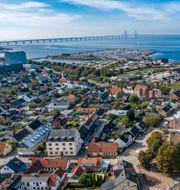 Bild över Malmö och Öresundsbron/Arkivbild. Johan Nilsson/TT / TT NYHETSBYRÅN