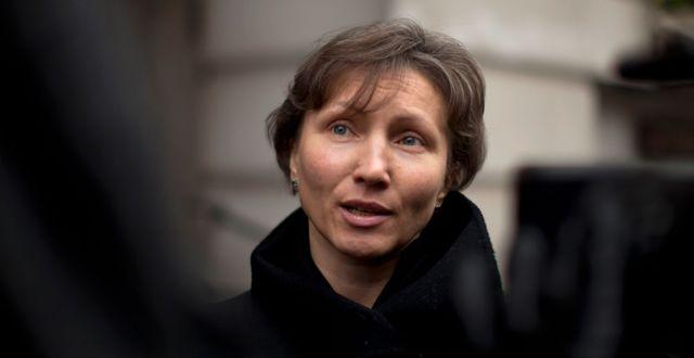 Aleksandr Litvinenkos änka Marina Litvinenko. Matt Dunham / TT / NTB Scanpix