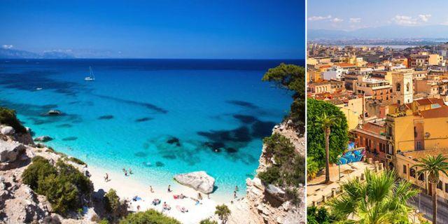 Sardinien är ett av många resmål som lockar under sensommaren. Wikicommons / Thinkstock