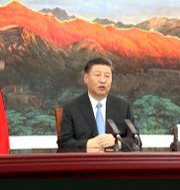 President Xi Jinping. TT NYHETSBYRÅN