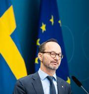 Arkivbild: Infrastrukturminister Tomas Eneroth (S) Amir Nabizadeh/TT / TT NYHETSBYRÅN