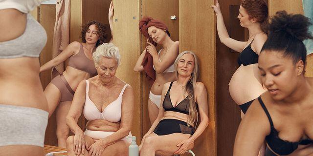 Bild från reklamkampanjen. Lindex
