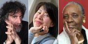 Neil Gaiman, Kim Thúy och Maryse Condé. TT