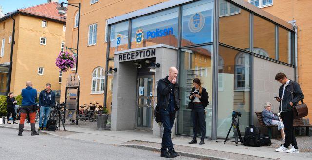 Polishuset i Linköping. Anders Wiklund/TT / TT NYHETSBYRÅN