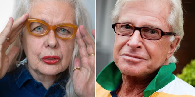Marianne Lindberg De Geer och Ulf Brunnberg. TT