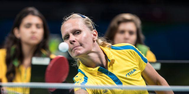 Dubbla svenska pingisbrons i paralympics