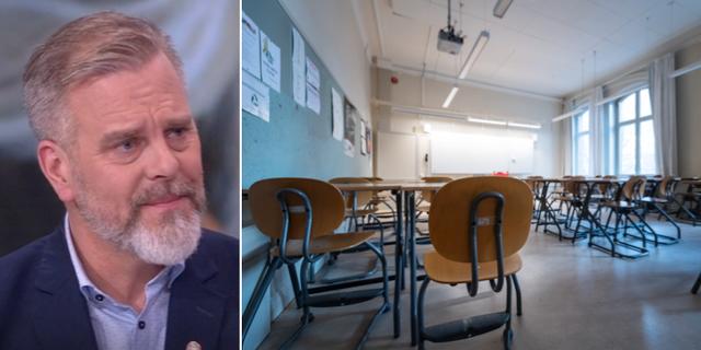 Martin Karlberg.  SVT/TT