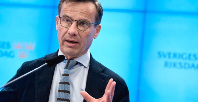 Ulf Kristersson (M). Pontus Lundahl/TT / TT NYHETSBYRÅN