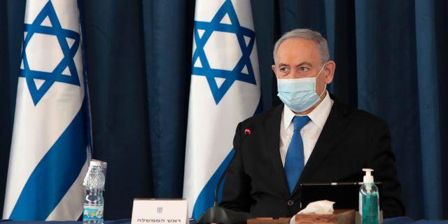 Benjamin Netanyahu. Gali Tibbon / TT NYHETSBYRÅN