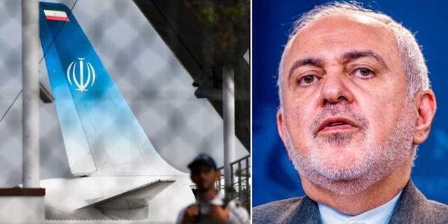 Irans regeringsplan i Biarritz/Javad Zarif. TT
