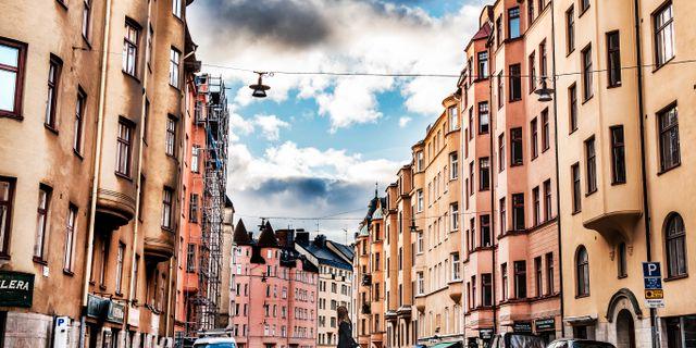 Bostadshus i Stockholms innerstad. Tomas Oneborg/SvD/TT / TT NYHETSBYRÅN