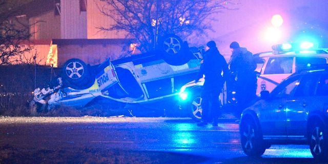Olyckan inträffade i de södra delarna av Malmö.  Johan Nilsson/TT / TT NYHETSBYRÅN