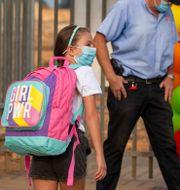 Under veckan öppnade skolorna i Israel igen.  Ariel Schalit / TT NYHETSBYRÅN