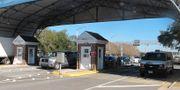 Militärbasen i Pensacola. Melissa Nelson / TT NYHETSBYRÅN