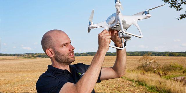 Precisionsodling är en viktig del av framtidens jordbruk.  Lantmännen