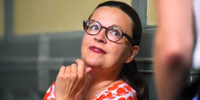 Anna Ekström.  Hanna Franzén/TT / TT NYHETSBYRÅN