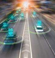 5G ger den nödvändiga snabbheten för fordonskommunikation Shutterstock