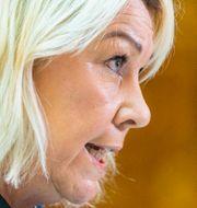 Norska beredskapsministern Monica Mæland.  Håkon Mosvold Larsen / TT NYHETSBYRÅN