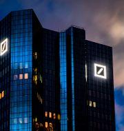 Deutsche Banks huvudkontor i Frankfurt. Michael Probst / TT NYHETSBYRÅN