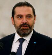 Saad al-Hariri. Mohamed Azakir / TT NYHETSBYRÅN