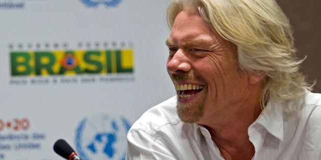 Arkivbild: Richard Branson.  Silvia Izquierdo / TT / NTB Scanpix