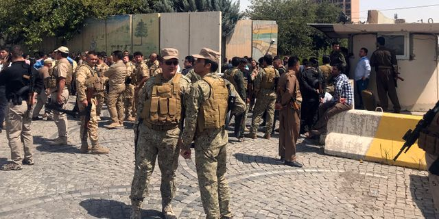 Militar tog kontroll over centralbank