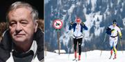 Gian-Franco Kasper/Charlotte Kalla förbereder sig för OS 2018. Arkivbilder. TT