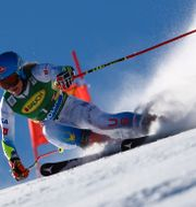 Mikaela Shiffrin i dagens tävling i Österrike.  Marco Trovati / TT NYHETSBYRÅN