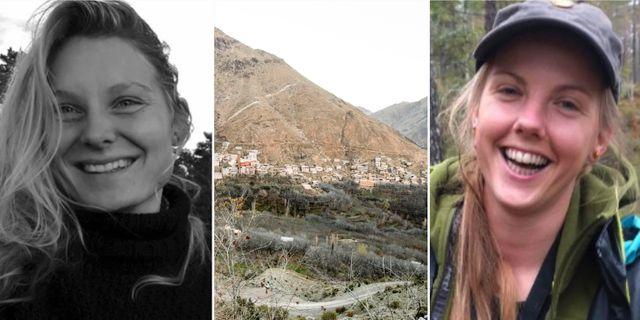 Louisa Vesterager och Maren Ueland.  TT, Privat.