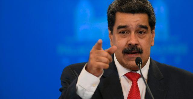 Nicolás Maduro. Matias Delacroix / TT NYHETSBYRÅN
