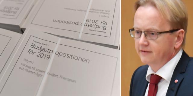 Fredrik Olovsson (S). TT