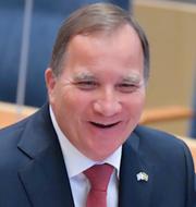Stefan Löfven (S)/Jimmie Åkesson (SD) TT
