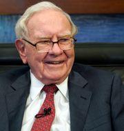 Arkivbild: Warren Buffett.  Nati Harnik / TT NYHETSBYRÅN