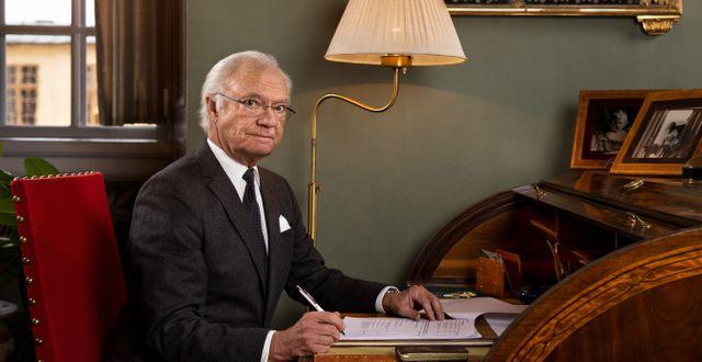 Kung Carl XVI Gustaf Linda Broström / Kungliga Hovstaterna / TT NYHETSBYRÅN
