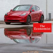 This photo provided by Edmunds shows the Tesla Model Y Performance, an all-electric crossover with impressive range and stunning acceleration that brings an exciting new flavor to the SUV segment.  Scott Jacobs/TT