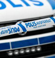 Polisbil. Arkivbild. Johan Nilsson/TT / TT NYHETSBYRÅN