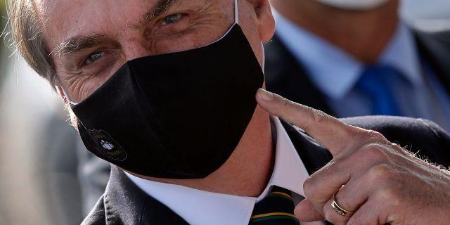 Jair Bolsonaro. TT/AP
