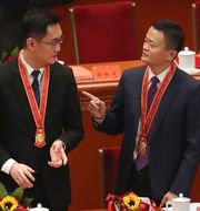 Tencents Pony Ma och Alibabas Jack Ma.  TT