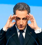 Nicolas Sarkozy. Jacques Brinon / TT NYHETSBYRÅN