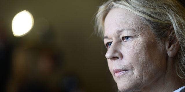 Marie Ledin, vd för Polarprisets stiftelse.  Hossein Salmanzadeh/TT / TT NYHETSBYRÅN