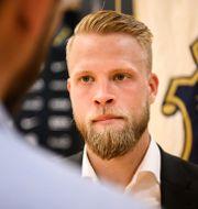 Daniel Sundgren.  JESPER ZERMAN / BILDBYRÅN