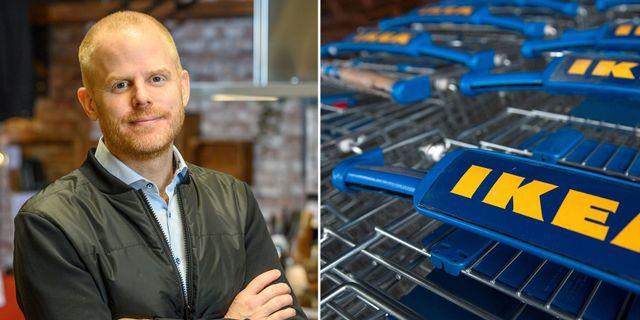 Jon Abrahamsson Ring. Ikea / TT