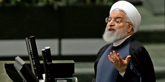 Irans president Hassan Rouhani. ATTA KENARE / AFP